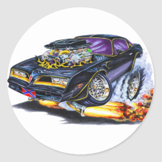 Extreme Bandit Trans Am Round Sticker