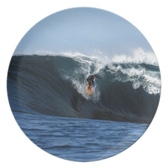 Extreme big wave surfing New Zealand Plate