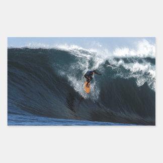 Extreme big wave surfing New Zealand Sticker