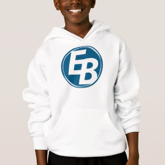 Extreme Blue logo boy's hoddie