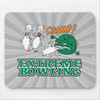 extreme bowling savage ball mouse pad