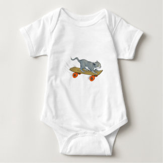 Extreme Cat Baby Bodysuit