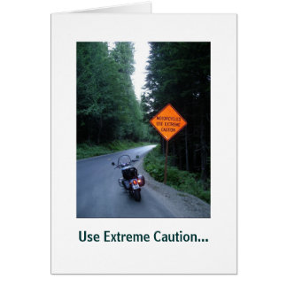 Extreme Caution,  Card
