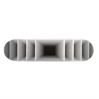 Extreme Design Infinity Silver Optical Skateboard