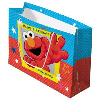 Extreme Elmo Birthday Large Gift Bag