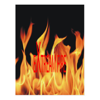 Extreme Fire Ethnic Classic Postcard