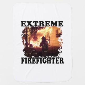 Extreme Firefighter Stroller Blankets