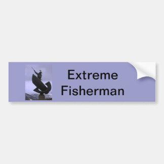Extreme Fisherman Bumper Sticker