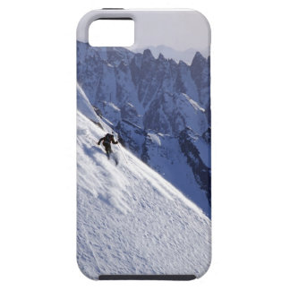 Extreme Free Skiing in Alaska iPhone 5 Cover