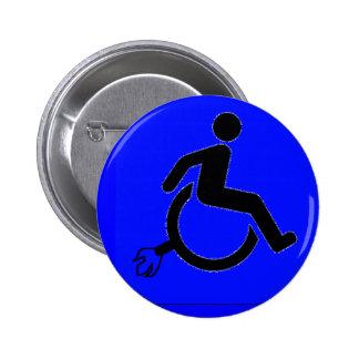 Extreme Handicap Pinback Button