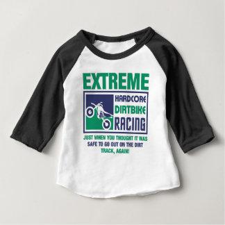 Extreme Hardcore Dirtbike Racing Baby T-Shirt