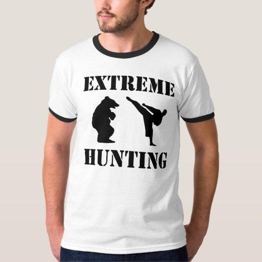 Extreme Hunting, funny, grpahic, tshirt, shirt