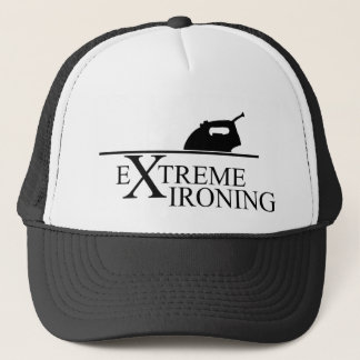Extreme Ironing by Adam Peel Trucker Hat