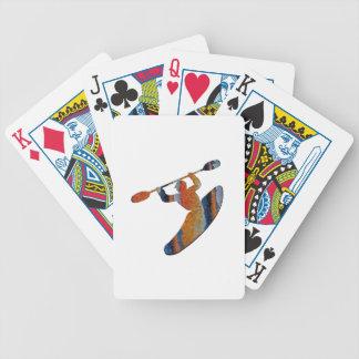 Extreme Kayak Bicycle Playing Cards
