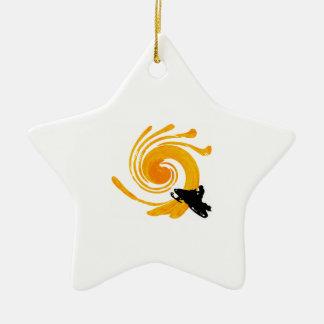Extreme Manifestation Ceramic Star Ornament