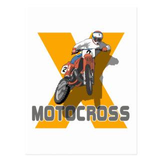 Extreme Motocross Postcard