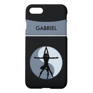 Extreme Or Power Yoga Balance Symbol Gray Matte iPhone 7 Case