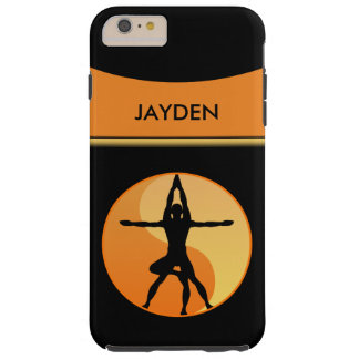 Extreme Power Yoga Balance Symbol Tough 6 6S Plus Tough iPhone 6 Plus Case