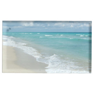 Extreme Relaxation Beach View Ocean Table Number Holder