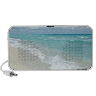 Extreme Relaxation Beach View White Sand Travelling Speakers
