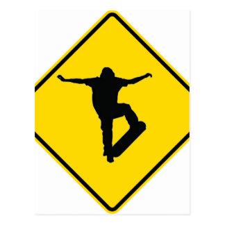 """Extreme Skater"" Postcard"