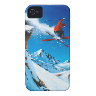 Extreme Skiing iPhone 4 Case-Mate Cases
