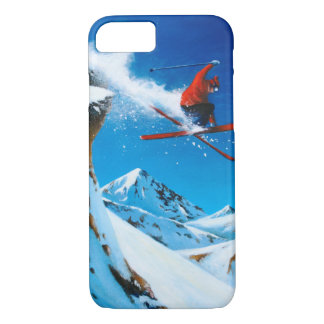 Extreme Skiing iPhone 8/7 Case