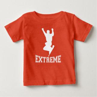EXTREME Snowboard 2 (white) Baby T-Shirt