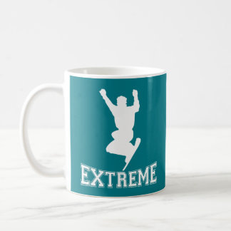 EXTREME Snowboard 2 (white) Coffee Mug