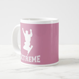 EXTREME Snowboard 2 (white) Giant Coffee Mug