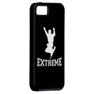 EXTREME Snowboard 2 (white) iPhone 5 Covers