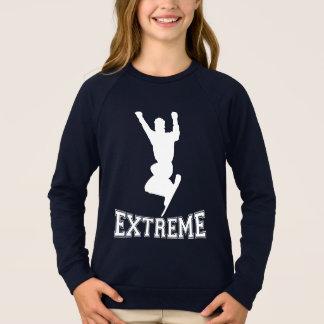 EXTREME Snowboard 2 (white) Sweatshirt