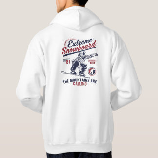 Extreme Snowboard, The Mountains are Calling Hoodie