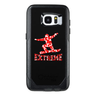 EXTREME Snowboarder 1 RED CAMO