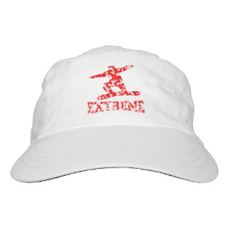 EXTREME Snowboarder 1 RED CAMO Headsweats Hat