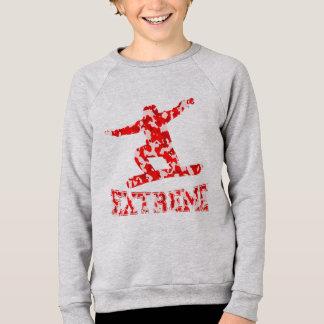 EXTREME Snowboarder 1 RED CAMO Sweatshirt
