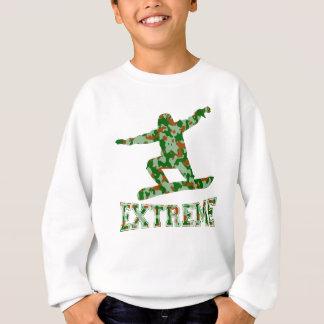 EXTREME snwbrd 1 GREEN BROWN CAMO Sweatshirt