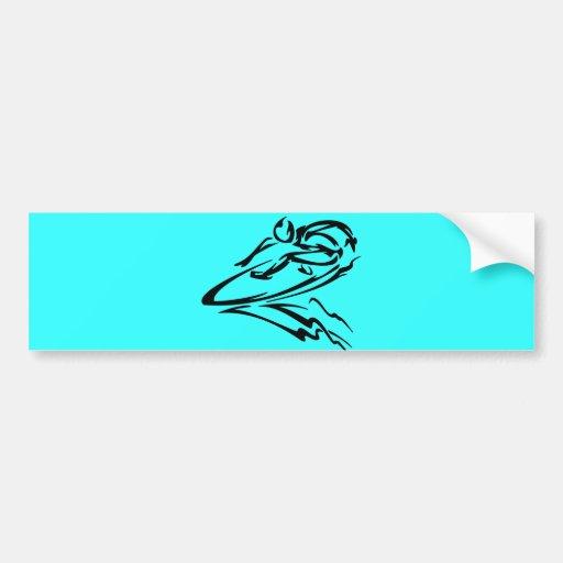 extreme_sport_040 SURFING SURFER SURF FUN SPORTS W Bumper Sticker