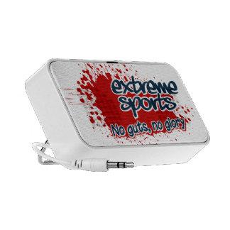 Extreme Sports Doodle speaker
