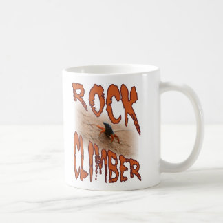 Extreme sports lizard: Rock climbing / climber Coffee Mug