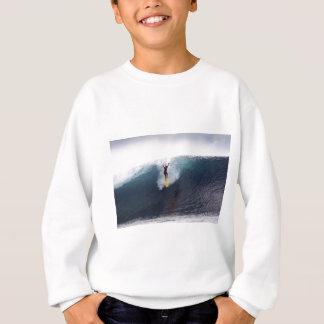 Extreme surfing big blue waves sweatshirt