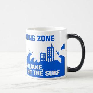Extreme Tsunami Surfers 11 Oz Magic Heat Color-Changing Coffee Mug