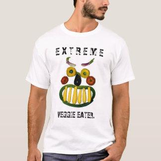 Extreme veggie eater. T-Shirt