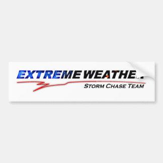 Extreme Weather Bumper Sticker