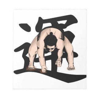 extreme-wrestling notepad