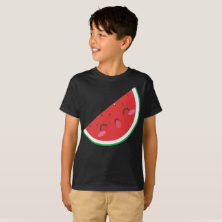 Extremely Happy Red Green Watermelon Kids T-Shirt