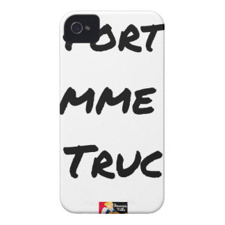 EXTREMELY LIKE a TRICK - Word games - François iPhone 4 Case