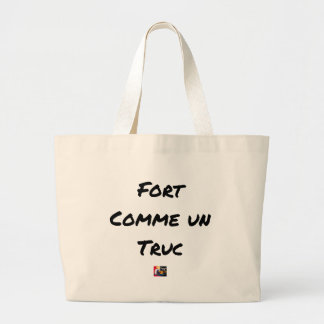 EXTREMELY LIKE a TRICK - Word games - François Large Tote Bag