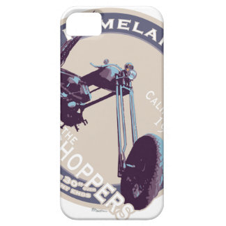 Extremely long Vintage CHOPPER Motorcycle iPhone 5 Case