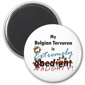 Extremely Naughty Belgian Tervuren Magnet